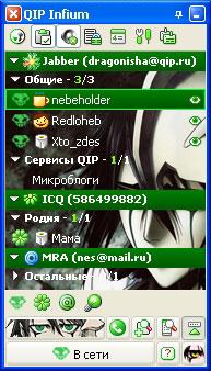 Qip infium rc3 build 9032 (2009) rus